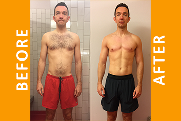 Chris – 18 Weeks Personal Training – Gained 3kg Muscle