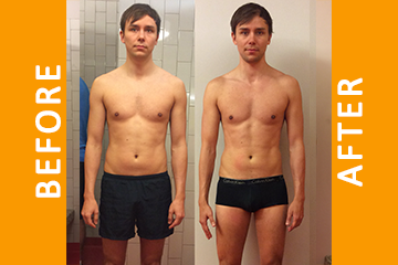Luke – 5 Months Personal Training – Lost 4kg Fat Gained 2kg Muscle